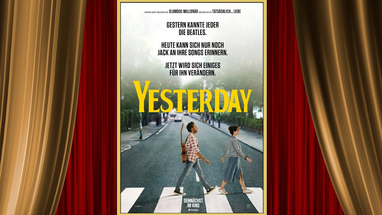 Trailer Yesterday Deutsch