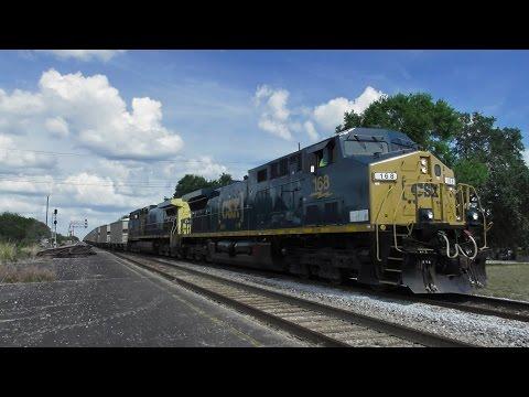 [HD] West Central Florida Railfanning - April 15, 2017