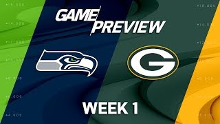 Seattle Seahawks vs. Green Bay Packers | Week 1 Game Preview | Move the Sticks