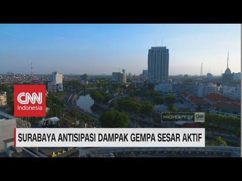 Surabaya Antisipasi Dampak Gempa Sesar Aktif