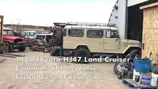 Classic Cruisers HJ47 Cummins 6BT
