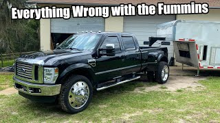 homepage tile video photo for Fixing Everything Wrong With My Cummins Swapped Ford on 24's!