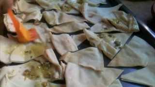 Baked Pita Chips (arabic Subtitles) شيبس الخبز العربي بالفرن