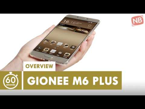Nigeria Phones: Gionee M6 Plus Android Phone Overview In 60 Seconds