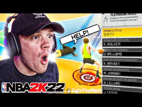 THE MOST OVERPOWERED DRIBBLE MOVES on NBA 2K22! FAST SPEED BOOST + ANKLE BREAKERS!