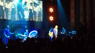 Morrissey in Lincoln, NE, NOT singing Every Day Is Like Sunday ... boring
