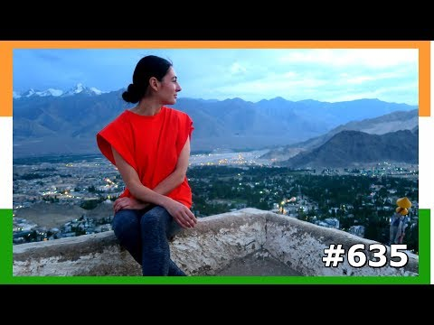 GORGEOUS LEH LADAKH VIEWS INDIA DAY 635 | TRAVEL VLOG IV