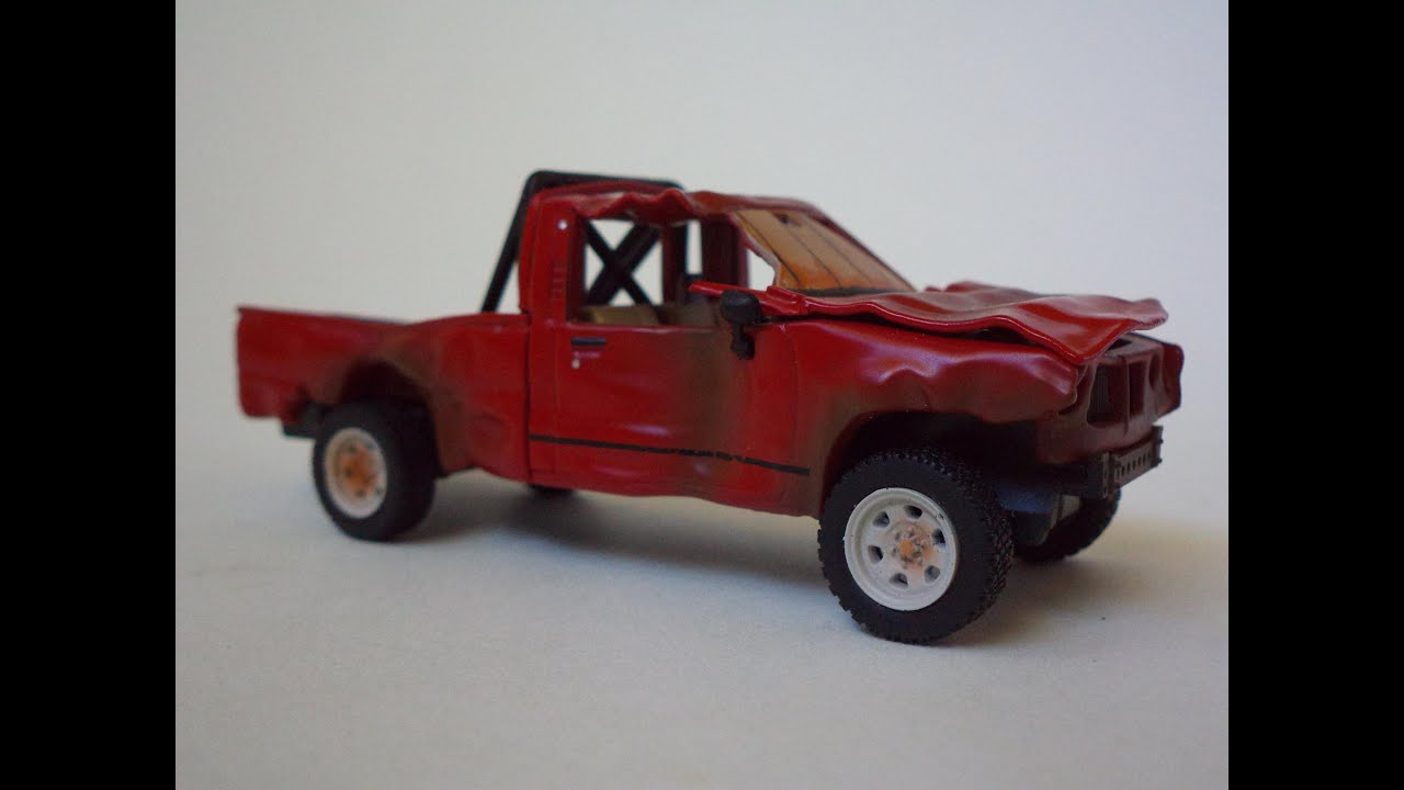 Top Gear Indestructible Toyota Hilux 1 43 Scale Model