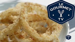 Oven-fried Onion Rings Recipe - Legourmettv