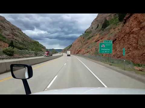 BigRigTravels LIVE! Mountain Green, Utah to UT/WY state line-May 22, 2018