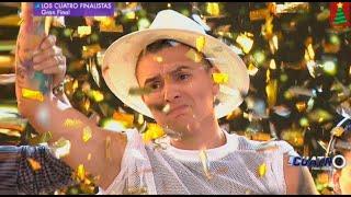 ¡Farik Grippa se consagró ganador en la Gran Final de Los Cuatro Finalistas La Batalla Final! Video