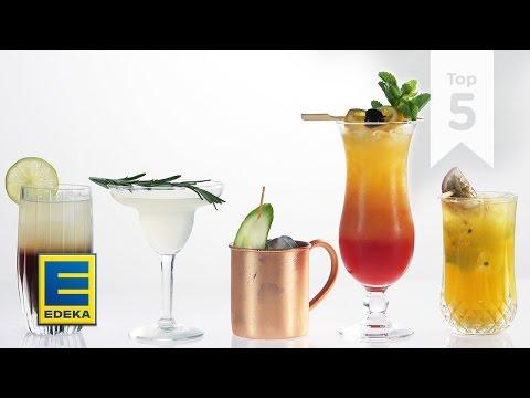 Top 5 Cocktails   Von Cuba Libre bis Moscow Mule   EDEKA