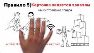 видео Концепция «точно вовремя» («just-in-time») и система КАНБАН в логистике