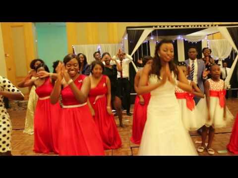 Malawian Bride Wedding Dance