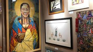 Best Of Show - Painting, Drawing, Graphics & Photography - Santa Fe Indian Market 2019