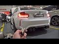 BMW M2 F87 STOCK vs Fi EXHAUST! LOUD REVS!