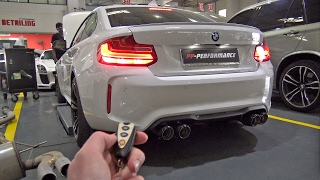 BMW M2 F87 STOCK vs Fi EXHAUST! LOUD REVS!
