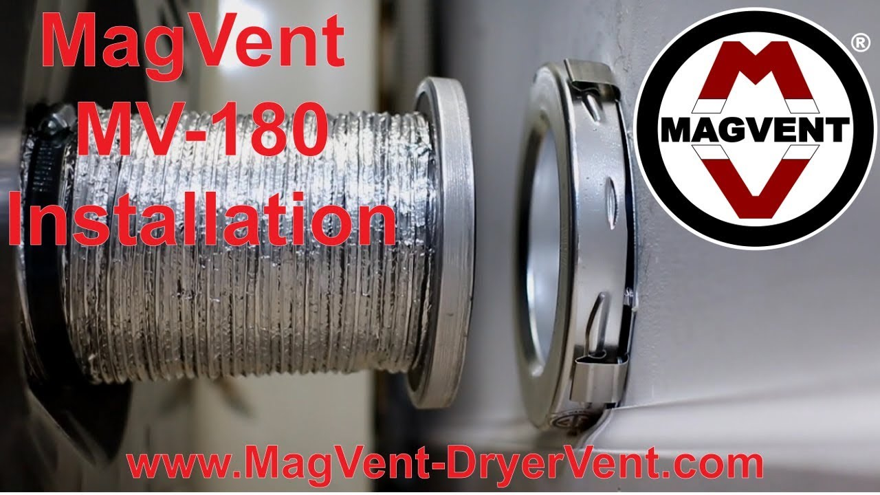 Magnetic Dryer Vent Coupling