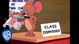 Tom & Jerry | The Home Schooled Mouse | Classic Cartoon | WB Kids