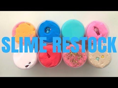 Slime Restock! Summer Restock!