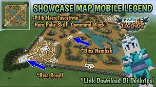 SHOWCASE!! MAP MOBILE LEGEND DI MINECRAFT