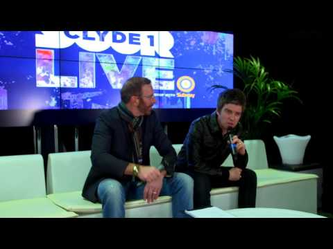 Noel Gallagher Clyde 1 LIVE Interview