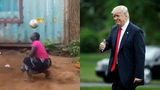 Rais Trump adata na danadana za mwanamke Mtanzania, afunguka
