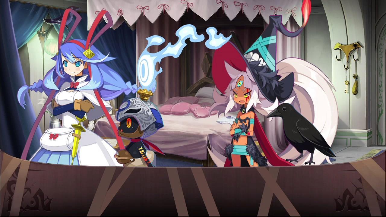 【普噁茶】PS4:魔女與百騎兵 2(07/21)第二章完 - YouTube