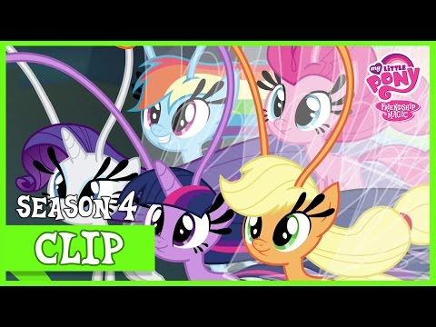 Mane 6 Transformed into Breezies (It Ain't Easy Being Breezies) | MLP: FiM [HD]