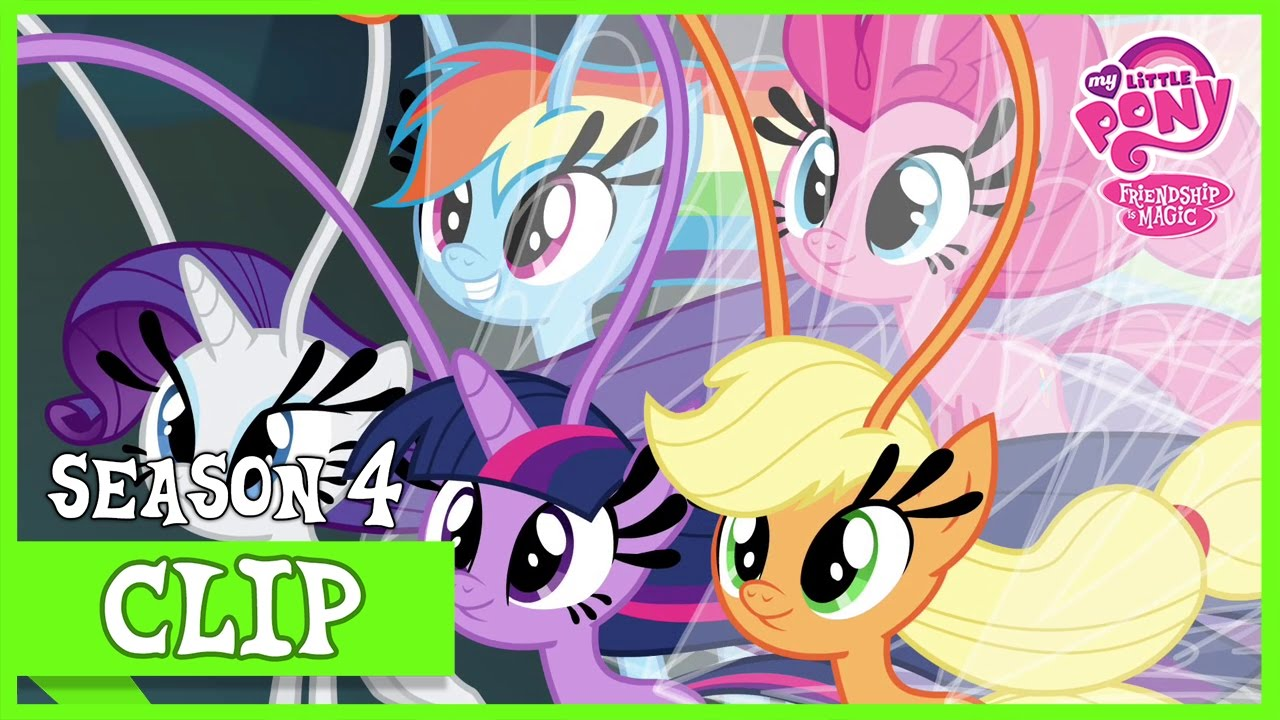 Mane 6 Transformed Into Breezies It Aint Easy Being