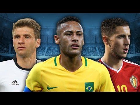 Will Neymar & Hazard Outshine Lionel Messi at the 2018 World Cup?! | International Round-Up