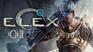 Elex - Zaczynam grę po raz pierwszy - GRAMY NA ŚLEPO! (01) #live #giveaway