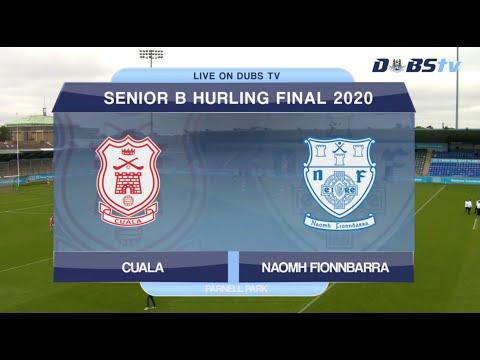2020 Dublin Senior B Hurling Final- Naomh Fionnbarra v Cuala