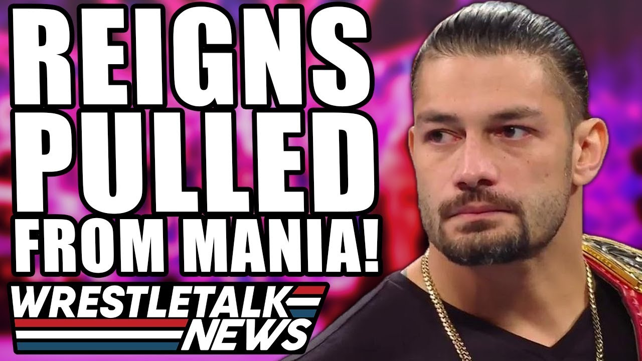 Roman Reigns And Several WWE Stars Pull Out Of WrestleMania 36