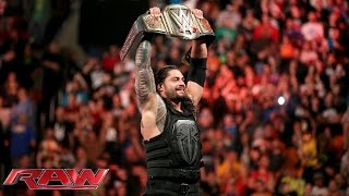 Roman Reigns vs. Sheamus - WWE World Heavyweight Championship Match: Raw, December 14, 2015
