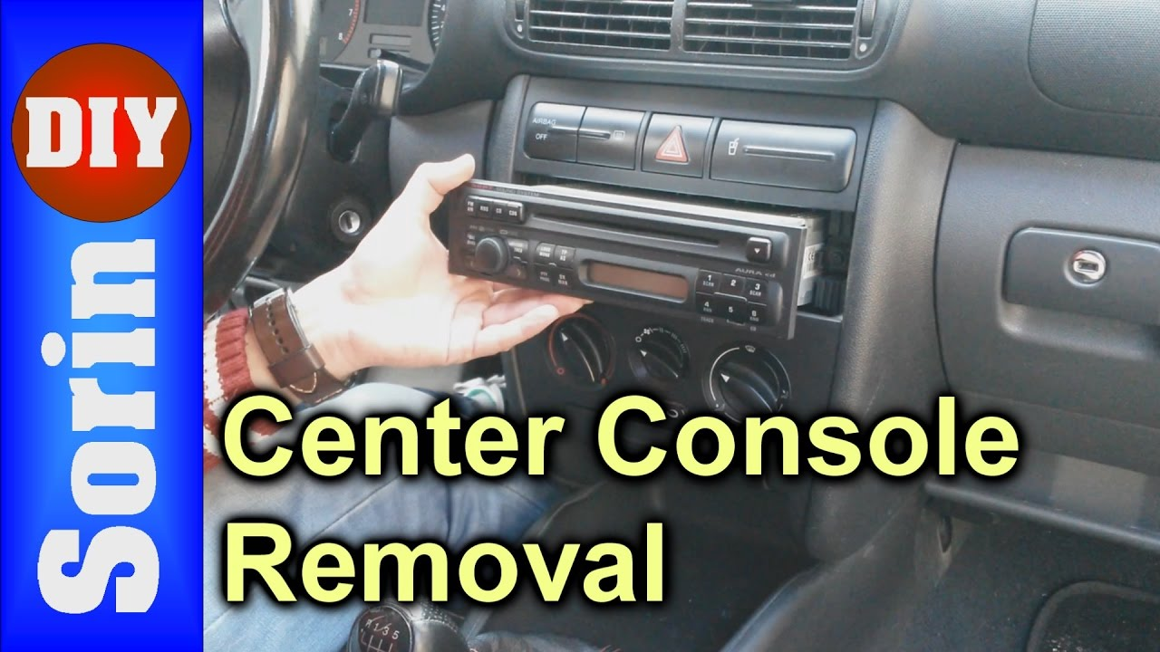 Cd player center console removal seat leon 1m for Mueble 2 din seat leon 1m