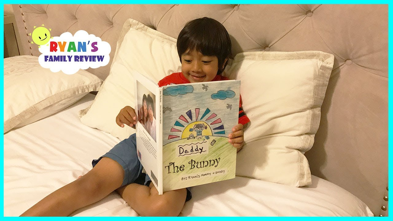 OUR FIRST PUBLISHED BOOK by Ryan's Mommy! Kids Bedtime StoryBook with Ryan's Family Review