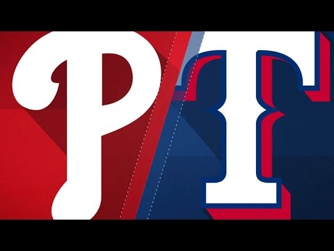 5/18/17: Five-run 5th leads Rangers past Phillies