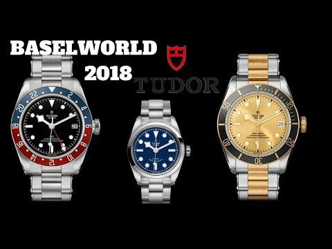 Brand New Tudor Watch Releases From Baselworld 2018