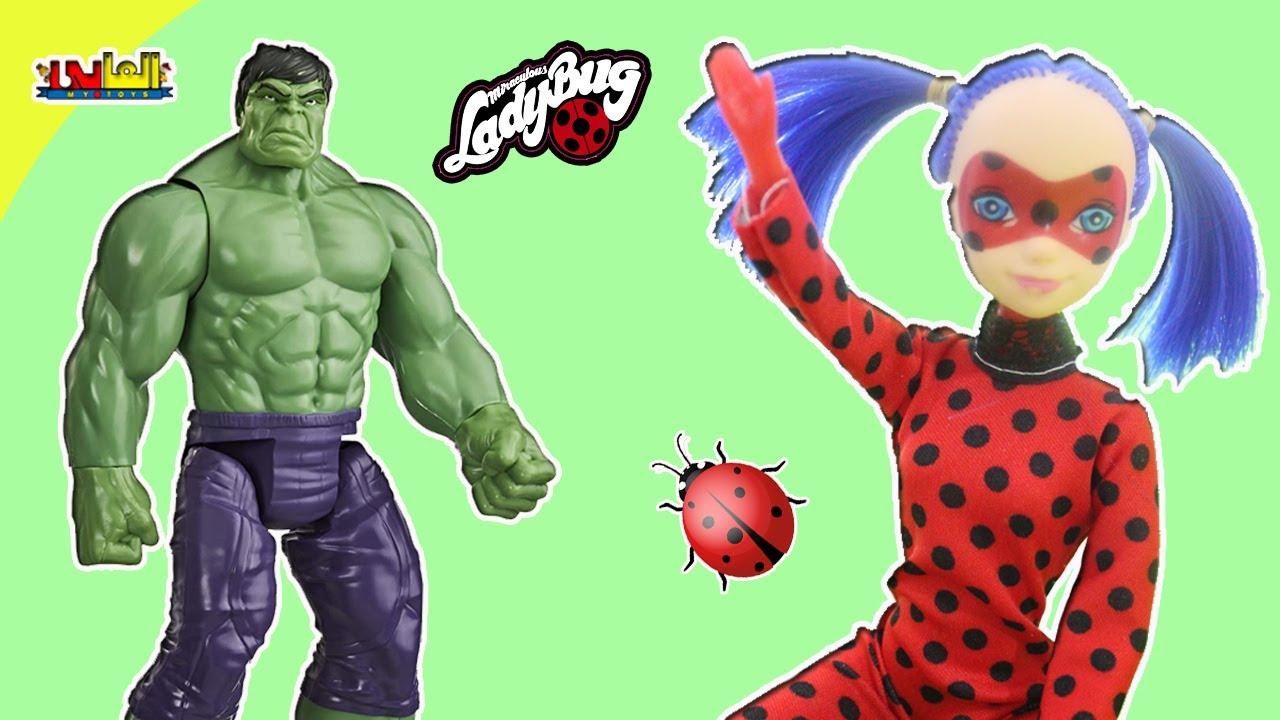 العاب ميراكولوس / لعبة الدعسوقة الجديدة للاطفال  miraculous ladybug toy