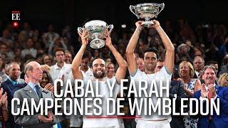 Cabal y Farah hacen historia: son campeones de Wimbledon | Noticias | El Espectador