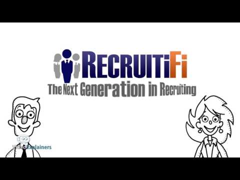 Whiteboard Drawing Video Animation Company For Staffing and Recruiting Portal