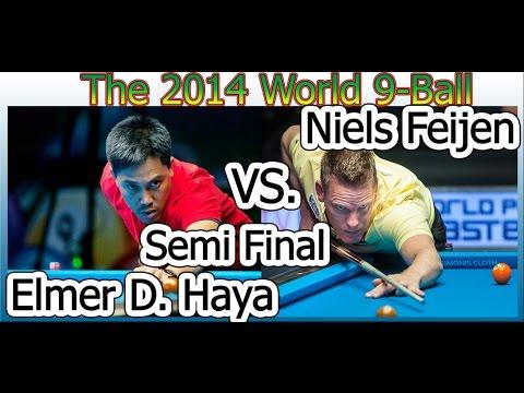 --- Niels Feijen (NED) --- vs. --- Elmer D. Haya (PHI) --- SEMI FINAL
