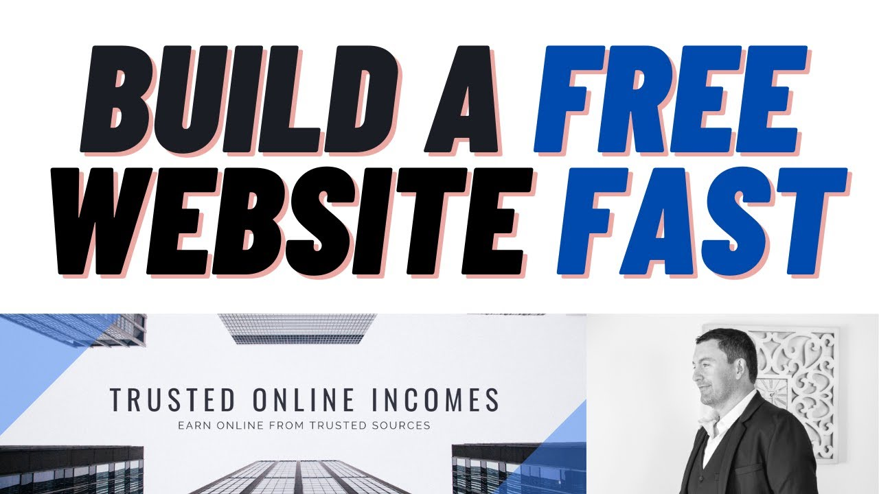 How to Build a Free Website Online Fast - (Takes Less Than a Minute)