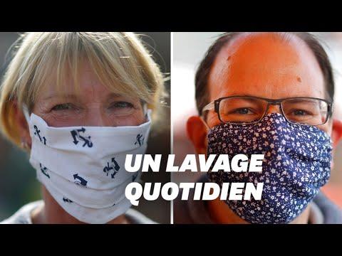 Coronavirus: comment laver son masque en tissu