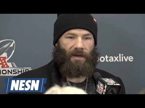 977d97ad1282d7 Julian Edelman Patriots vs. Chiefs AFC Championship Postgame Press  Conference