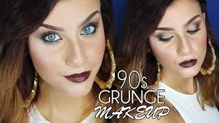 Grunge 90's Fall Makeup - Trucco Anni '90 Autunno/Inverno | None Fashion and Beauty Thumbnail