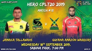 Match 15 Highlights | #JTvGAW | #CPL19