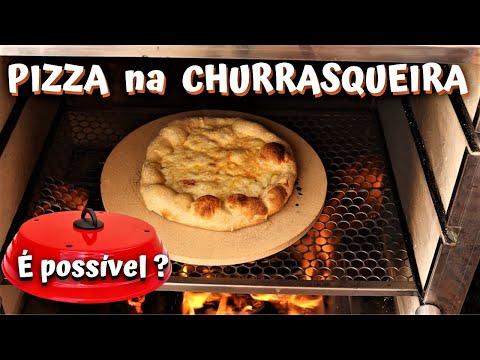 COMO FAZER PIZZA NA CHURRASQUEIRA