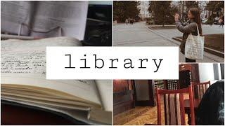 Study Vlog | Учёба В Библиотеке | Продуктивный Влог | Учись Со Мной В Библиотеке | Study With Me